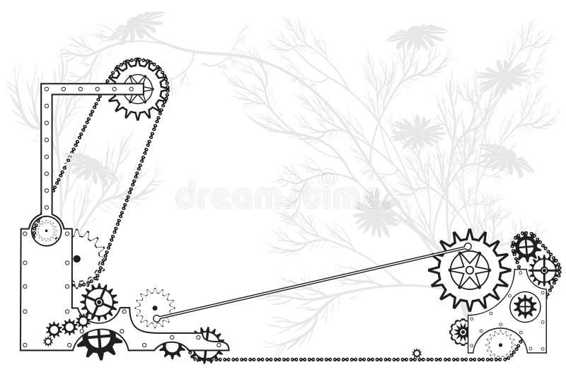 Machine vector illustration