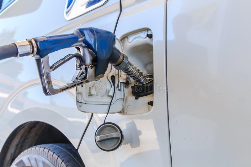 Machine avec la suffisance de carburant image stock