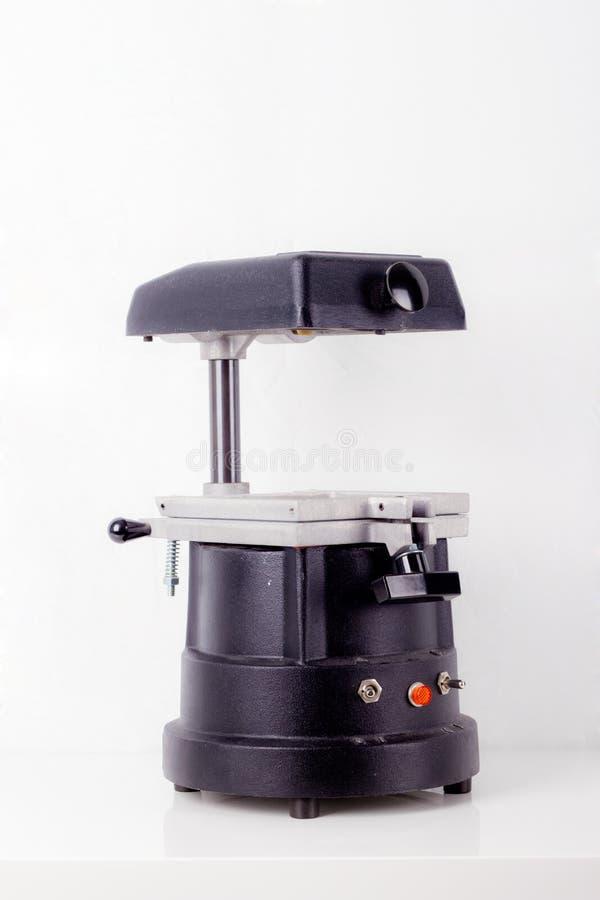 Machine blanche de dentistes photos libres de droits