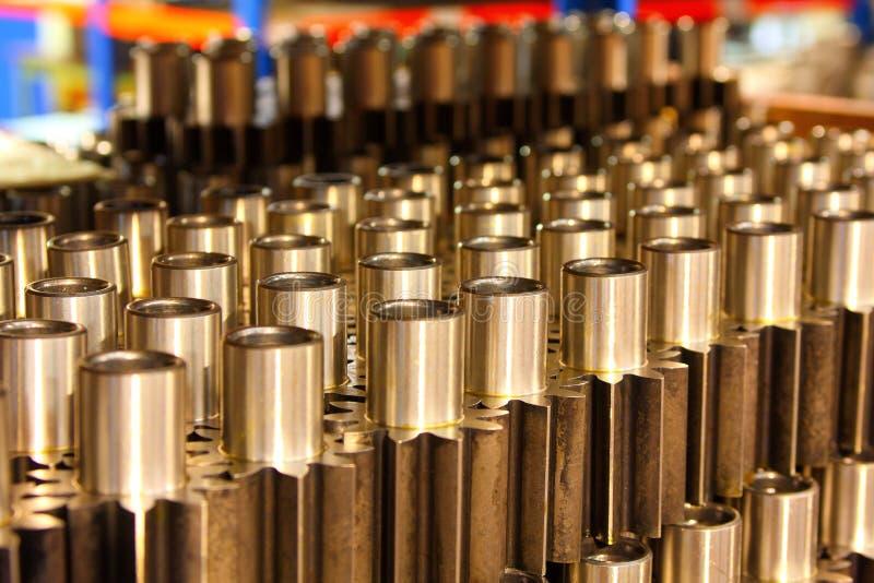 Machine cogs stock image
