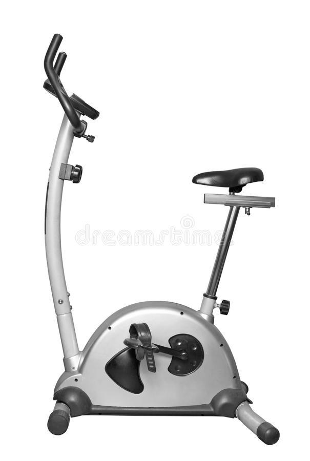 Machine d'exercice de bicyclette photographie stock