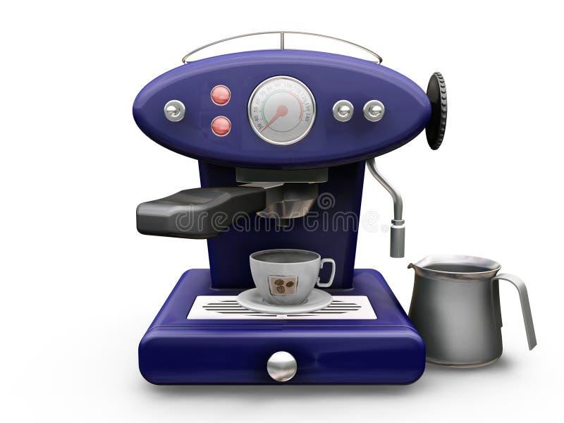 Machine de café illustration de vecteur