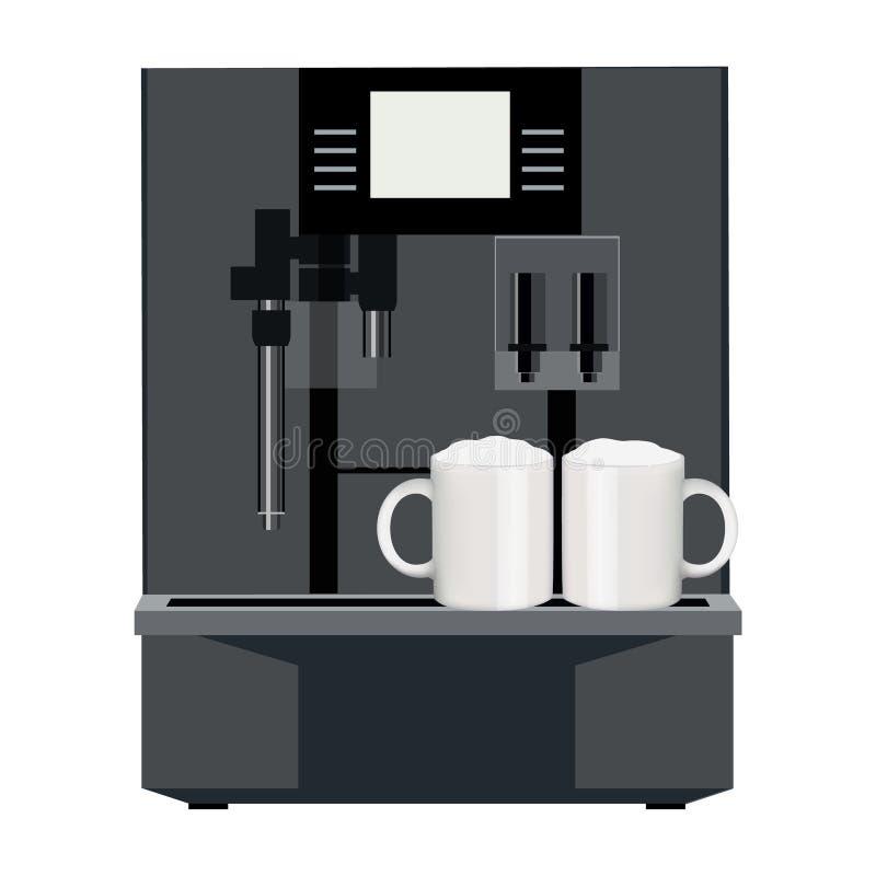 Machine de café illustration libre de droits