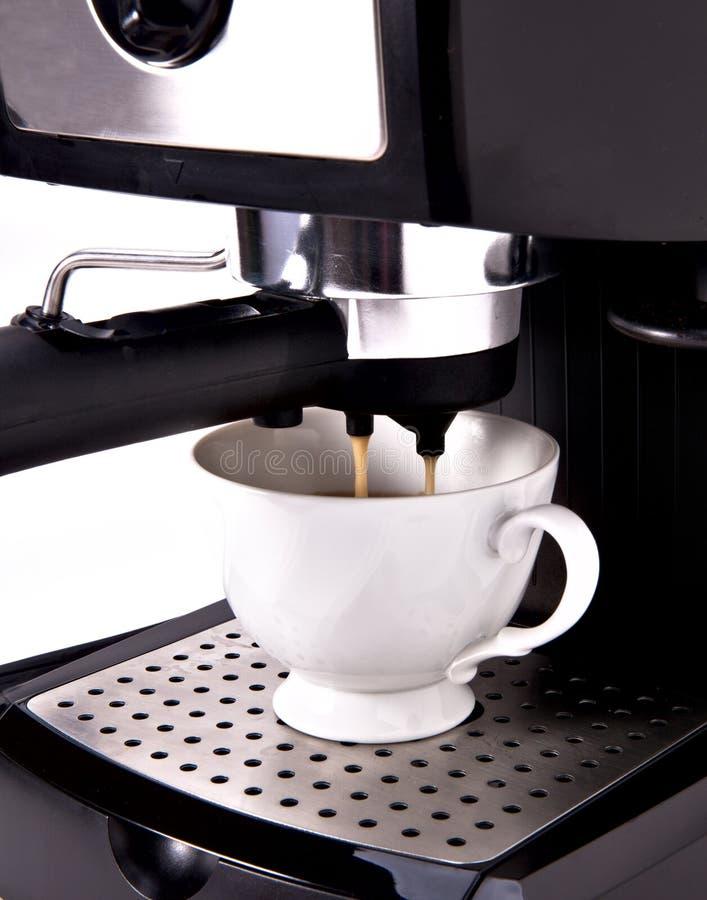 Machine de café d'Expresso photographie stock libre de droits