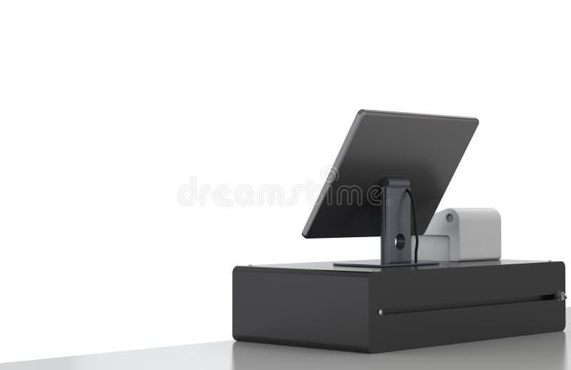 Machine de caissier photographie stock