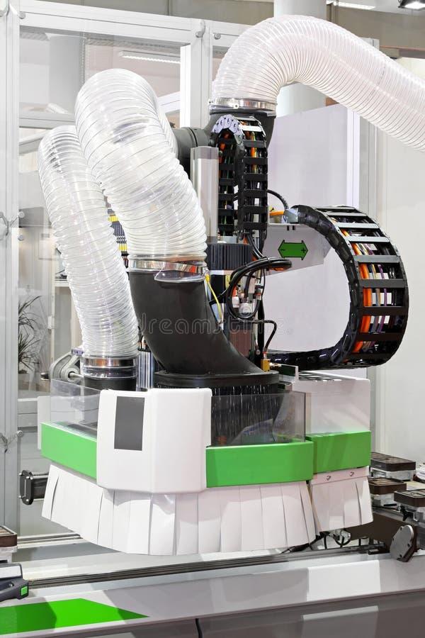 Machine de commande numérique par ordinateur photo stock