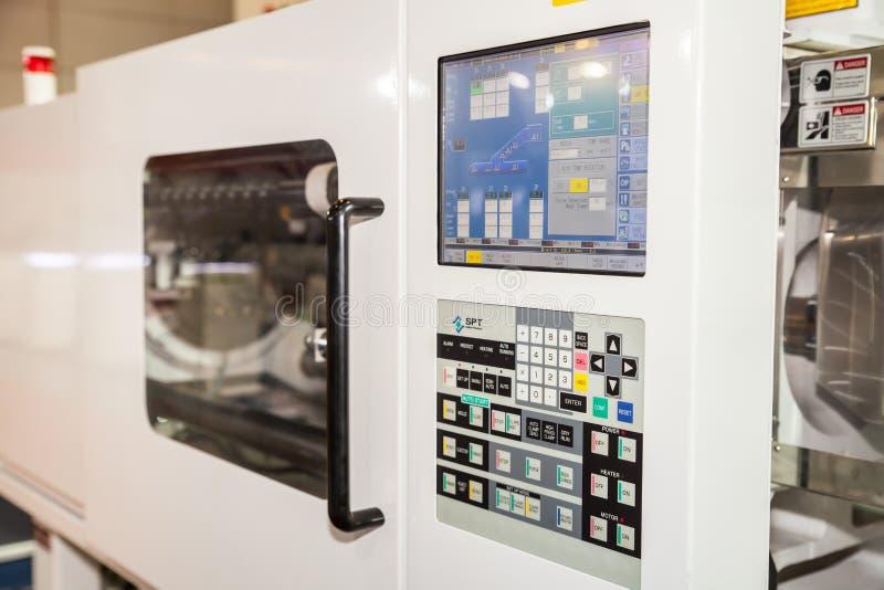 Machine de commande numérique par ordinateur image stock