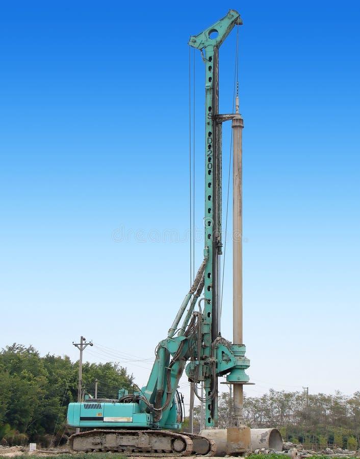 Machine de construction photos stock
