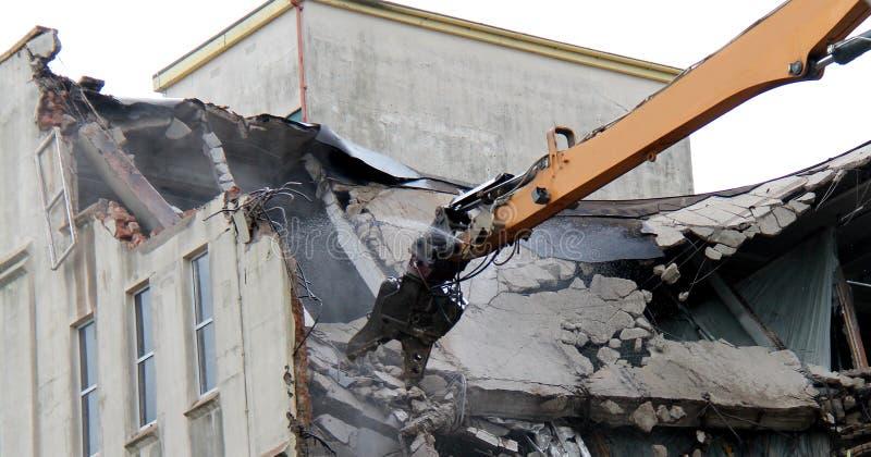 Machine de démolition photo stock