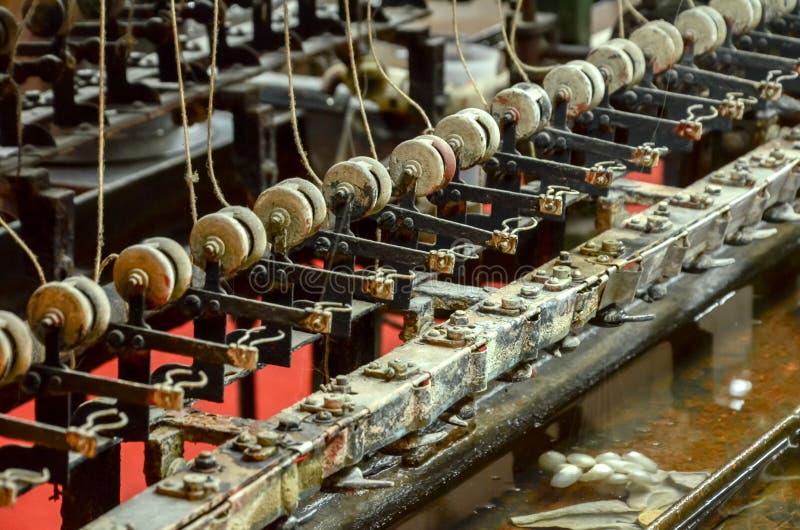 Machine de développement de vers à soie à Changhaï images stock