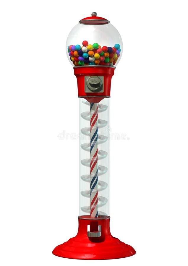 Machine de distribution de Gumball illustration libre de droits