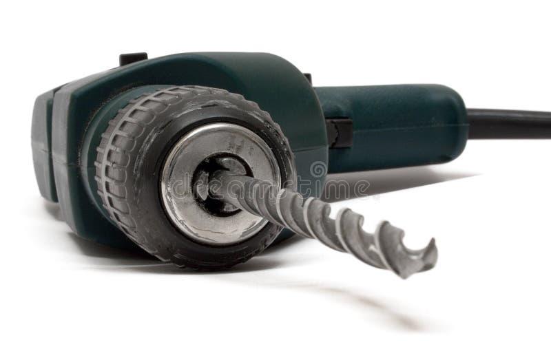 Machine de foret (vue de face) photographie stock