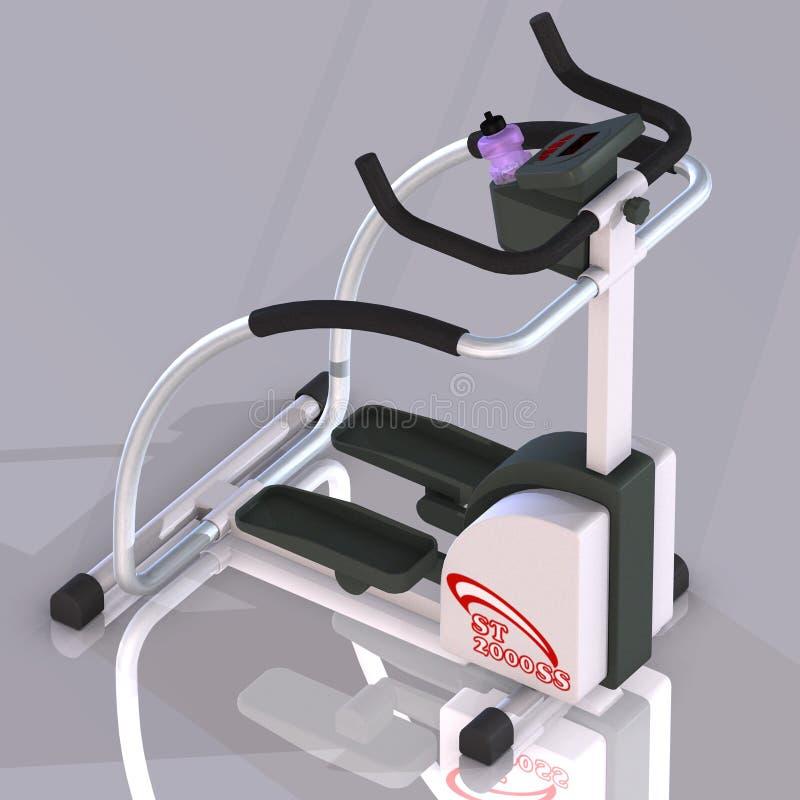Machine de forme physique : De pas illustration libre de droits