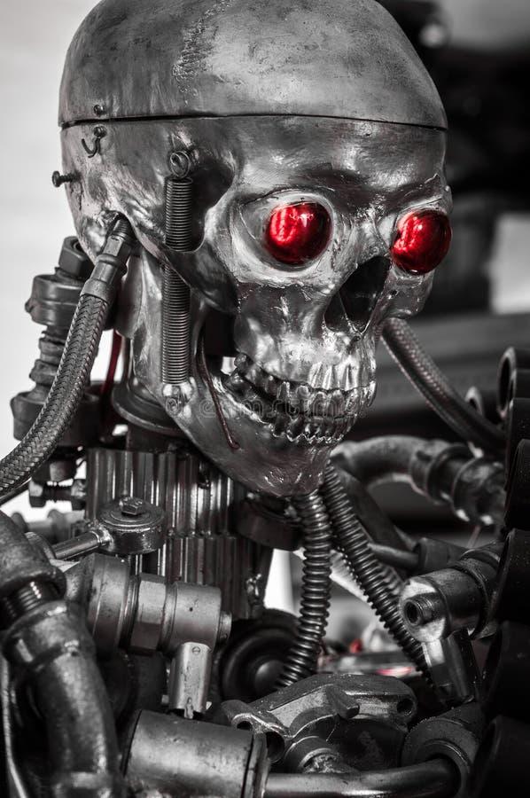 Machine de guerre sur le fond blanc photo libre de droits