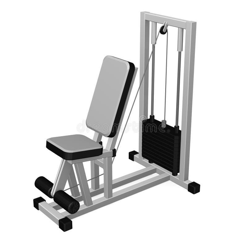 Machine de gymnastique illustration stock