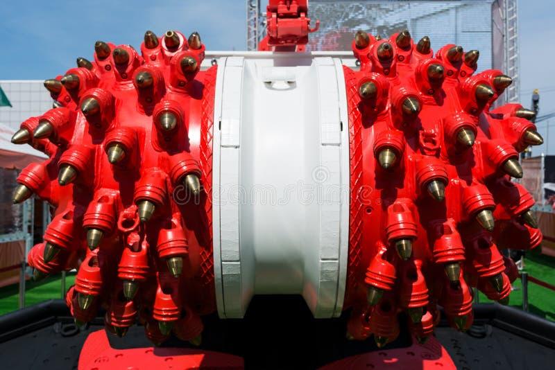 Machine de mineur de bluteur de charbon photos libres de droits