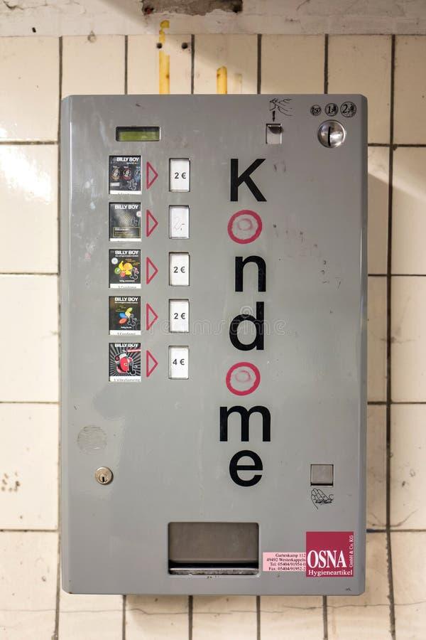 Machine de préservatif photos stock