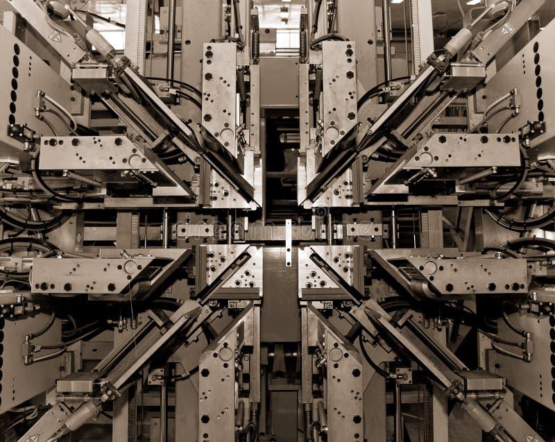 Machine de soudure automatique photo libre de droits