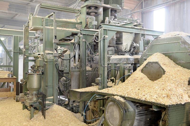Machine de travail du bois. image stock