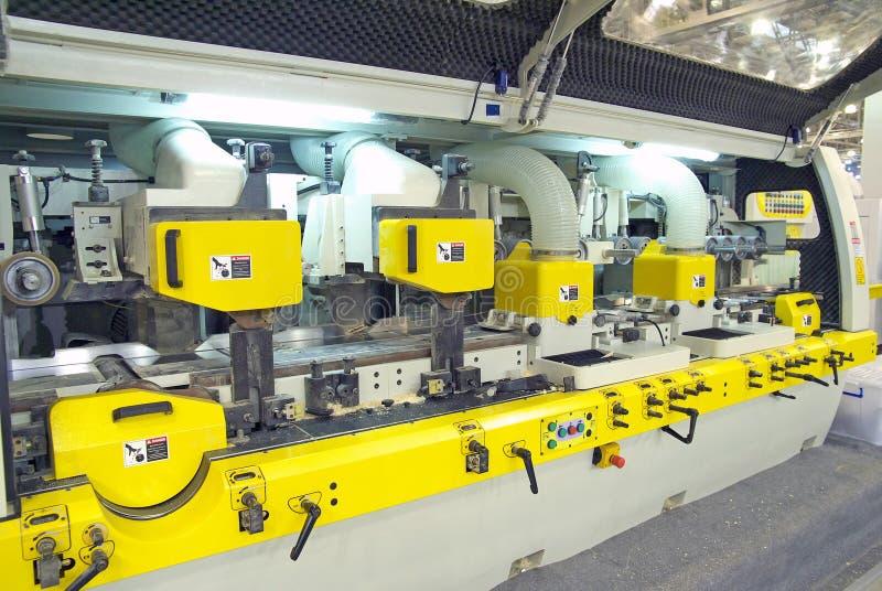 Machine de travail du bois image libre de droits