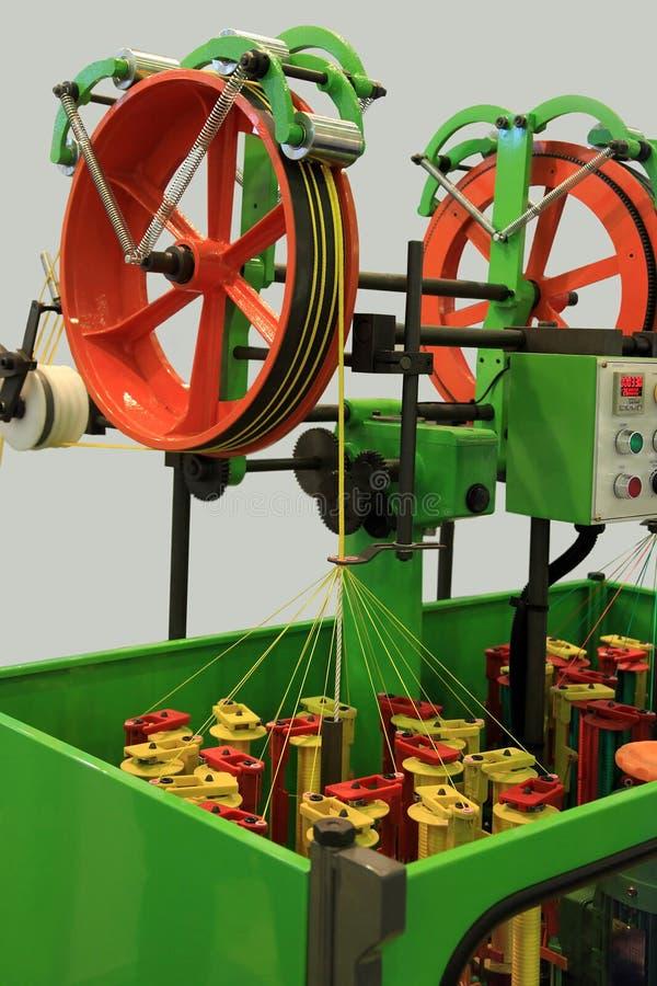 Machine de tressage de corde image libre de droits
