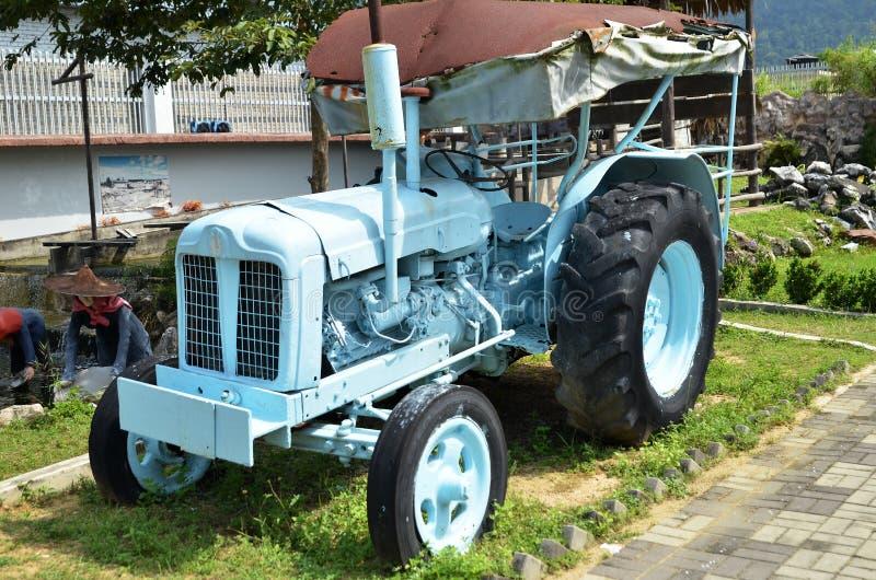 Machine en Kinta Tin Mining Museum dans Kampar, Malaisie photographie stock libre de droits