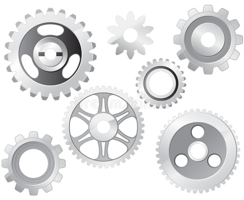 Machine Gear Wheel royalty free illustration