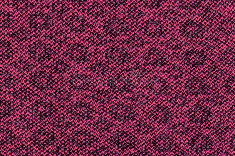 Machine gebreide stof patroon dichte omhooggaande textuur royalty-vrije stock afbeeldingen