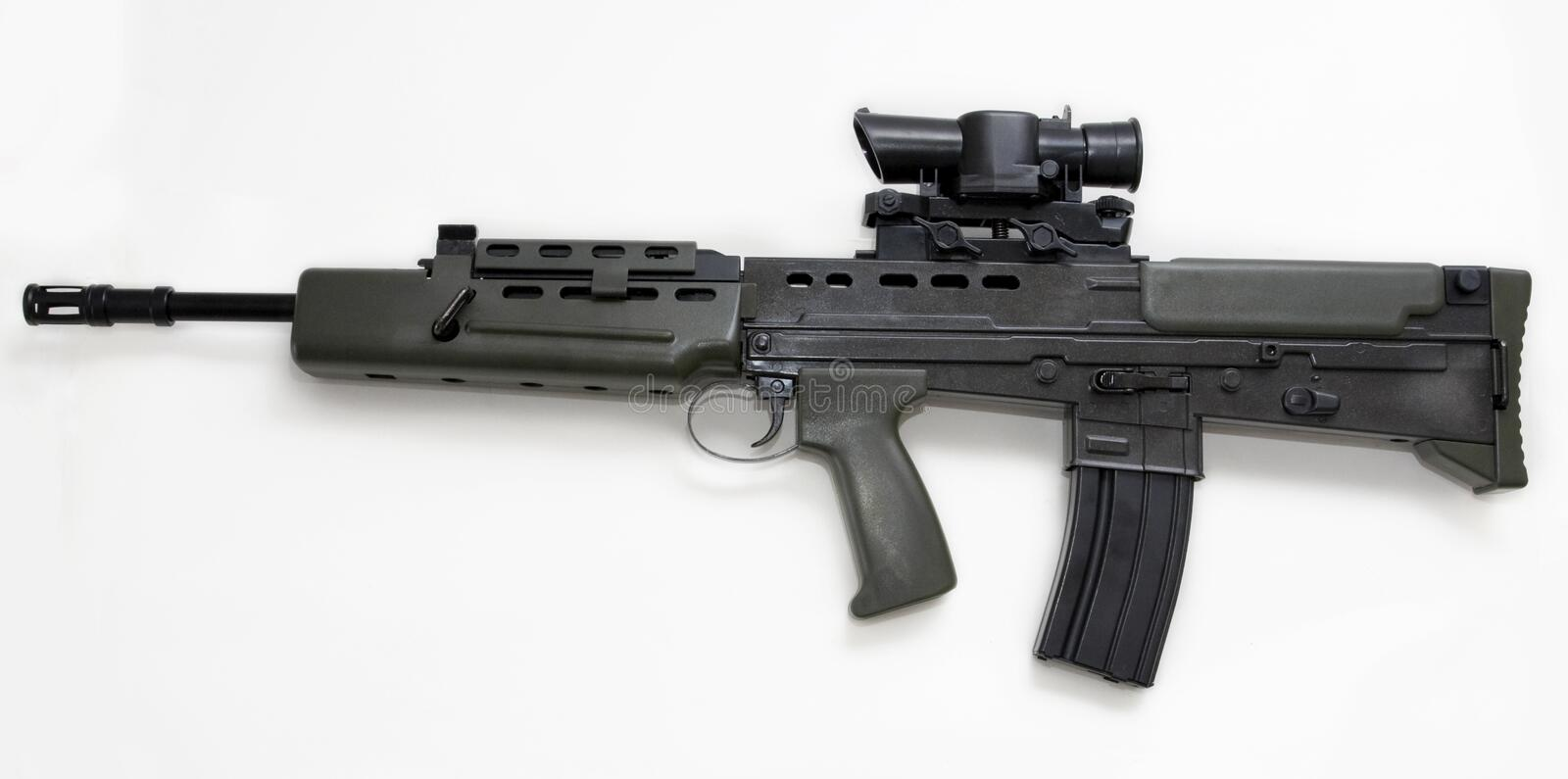 Download Machine gun stock image. Image of automatic, weapon, trigger - 9706143