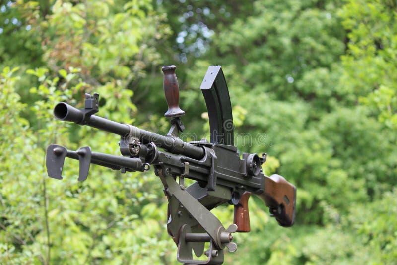 Machine gun 3 stock image
