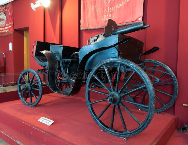 Machine-gun tachanka the Revolution and the Civil War stock images