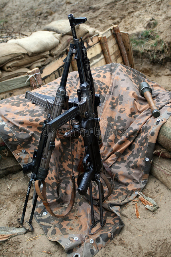 Download Machine guns stock photo. Image of weapon, arms, vintage - 3349708