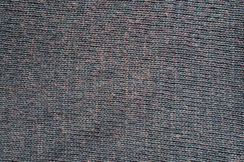 Machine het breien woltextuur stock foto