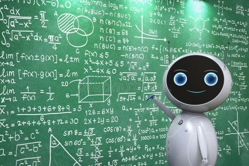 Machine het leren concept vector illustratie