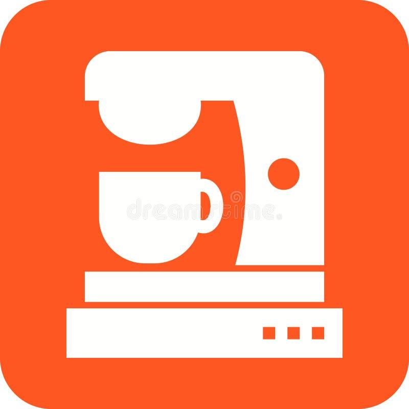 Machine II de café illustration stock