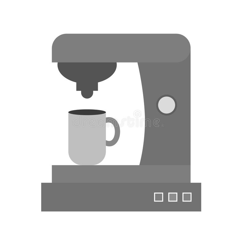 Machine II de café illustration libre de droits