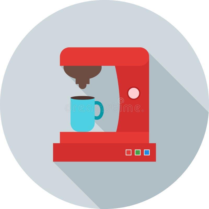 Machine II de café illustration de vecteur