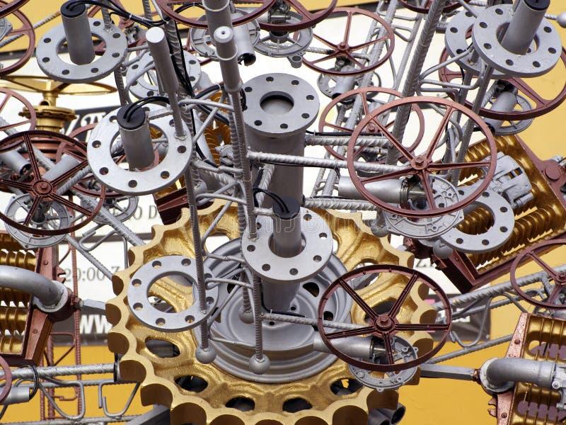 Machine parts stock images