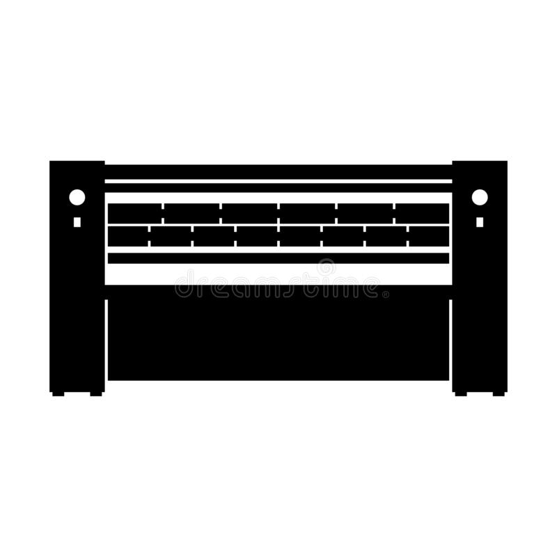 Machine repassante de calendrier photos stock