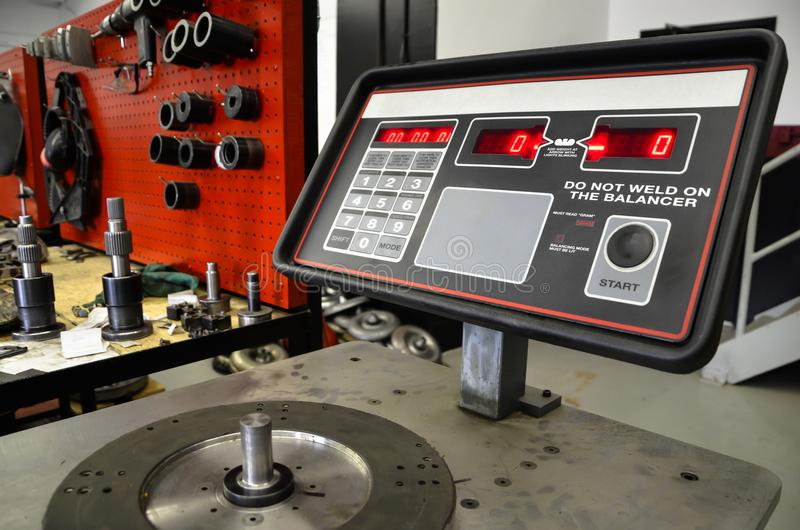 Torque Converter Testing Station royalty free stock photography