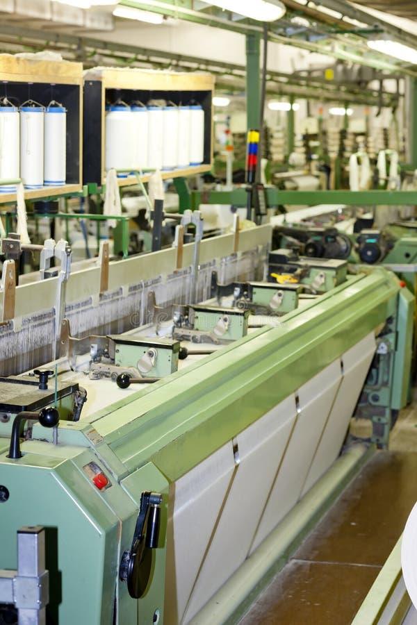 machine tkaninę zdjęcie stock
