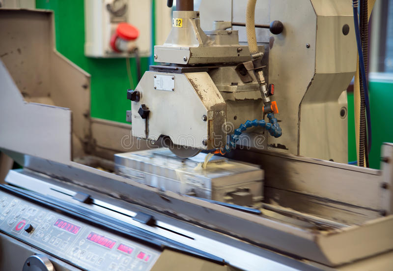 Machine tools with Computer Numerical Control (CNC) royalty free stock photography