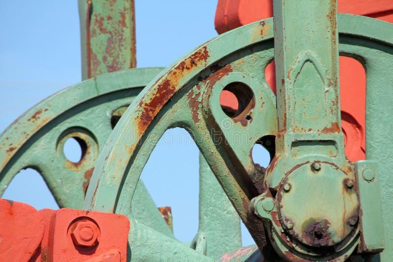 Machine Wheels Stock Image