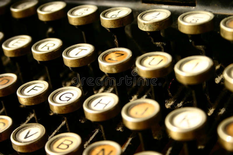Machine for writing stock photography