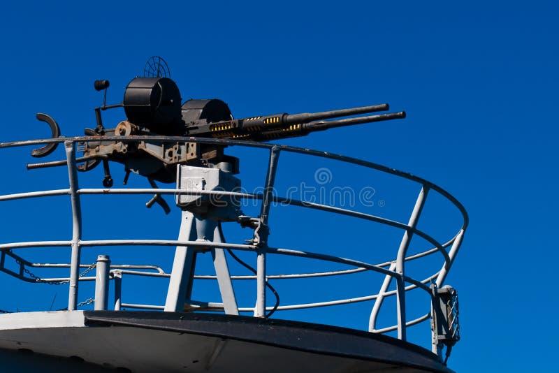 Machinegeweer stock foto's