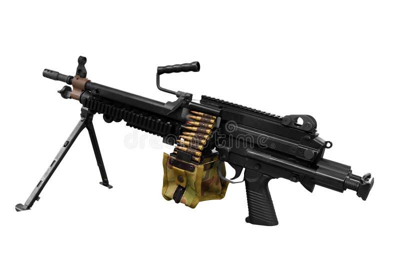 Machinegeweer royalty-vrije stock afbeeldingen