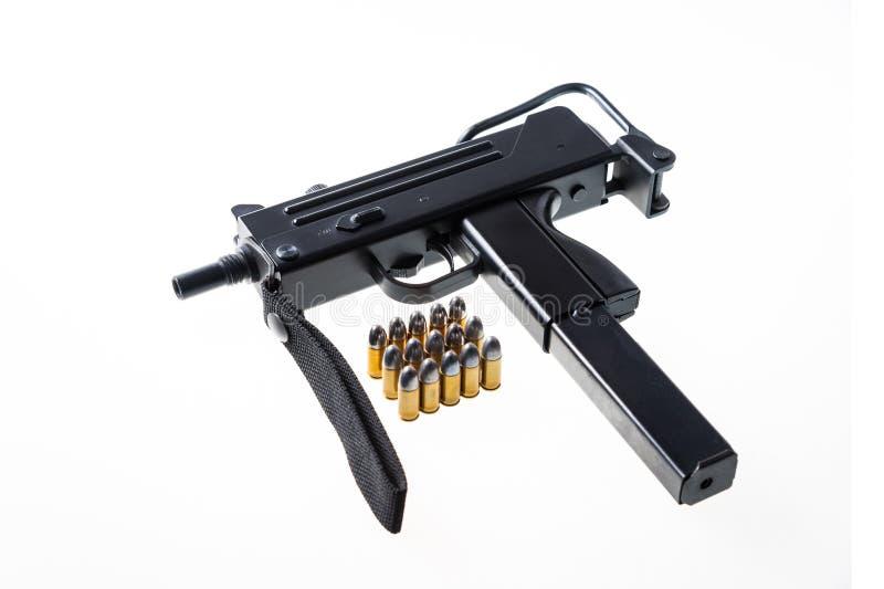 Machinepistool stock afbeelding