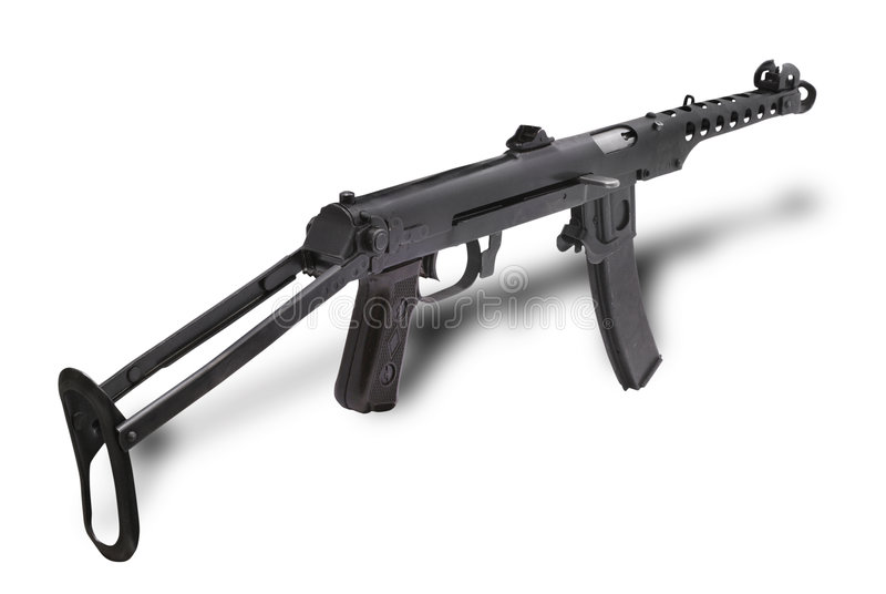 Machinepistool PPS43 royalty-vrije stock afbeelding