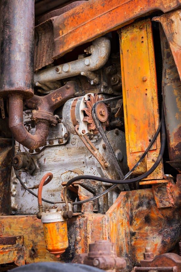 Machinery old tractors. Machinery old tractors general illustration stock photo