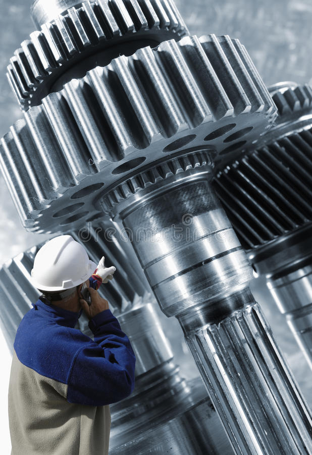 Download Machinery And Worker Stock Photos - Image: 21091033